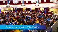 Poker returns to the Villa Marina