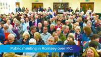 Big turn out for Ramsey P.O.meeting