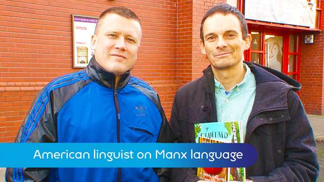 Preview of - American linguist on Manx language
