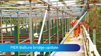 Ballure bridge update