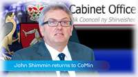 Shimmin returns to government