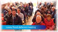 Laxey flood defence meeting