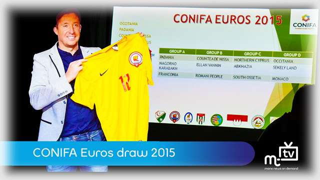 Preview of - CONIFA Euro 2015 draw