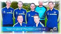 Manx football team play as Team England