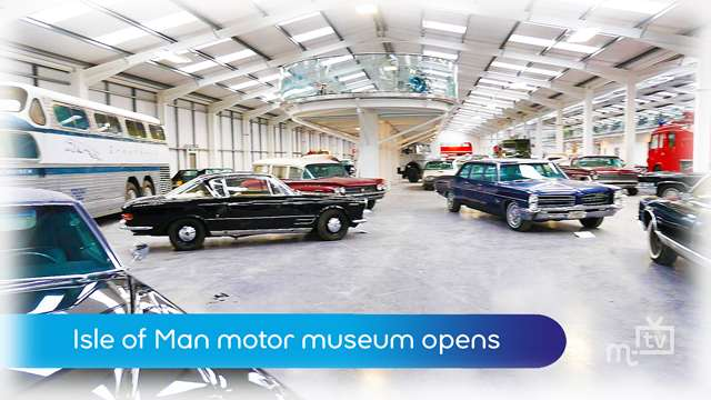 Preview of - IOM motor museum opens