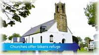 Churches offer bikers refuge