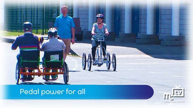 Preview of - Pedal power for all