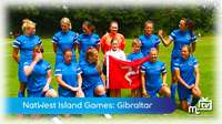 Island Games: ladies football vs Gibraltar
