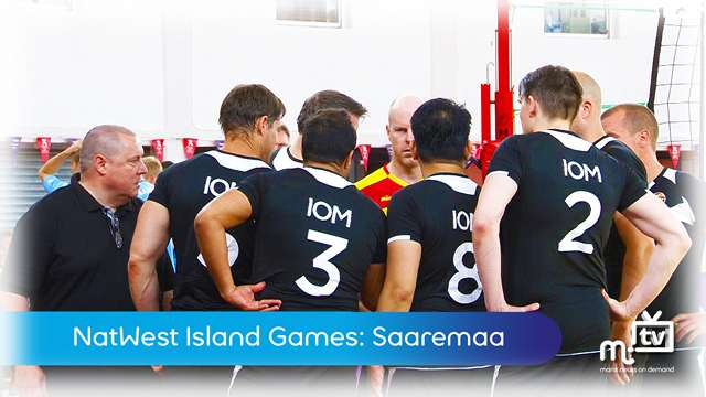 Preview of - Island Games: mens volleyball vs Saaremaa