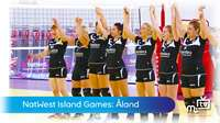 Island Games: ladies volleyball
