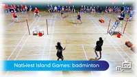 Island Games: badminton