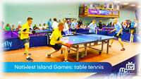 Island Games: table tennis