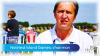 Island Games: international chairman