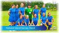 Island Games: ladies football vs Åland