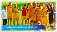 Island Games: mens football vs Shetland