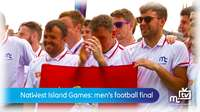 Island Games: mens football final
