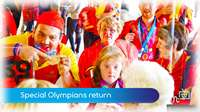 Special Olympians return