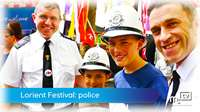 Interceltique Lorient: Manx police