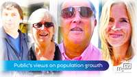 Public's view on population growth