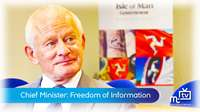 Chief Minister: Freedom of Information update