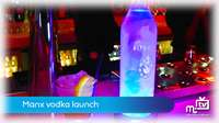 Manx vodka launch