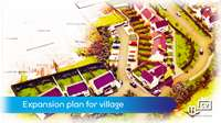 Expansion plan for village
