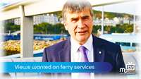 Public's view wanted on ferry services