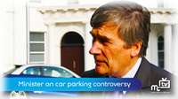 Minister on car parking controversy