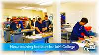 New facilities for IoM College