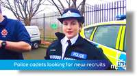 Police cadets looking for new recruits