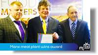 Manx meat plant wins award