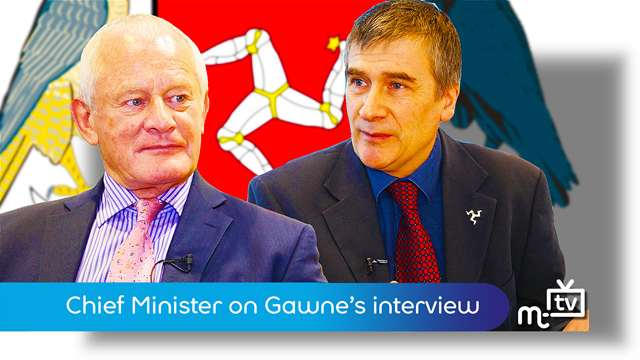 Preview of - Chief Minister on Gawne's MTTV interview