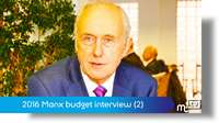 Budget interview: part two