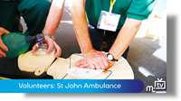 Volunteers: St John Ambulance