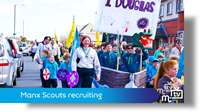 Manx Scouts recruiting