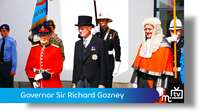 Governor Sir Richard Gozney