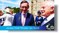 Jersey Chief Minister: Ian Gorst