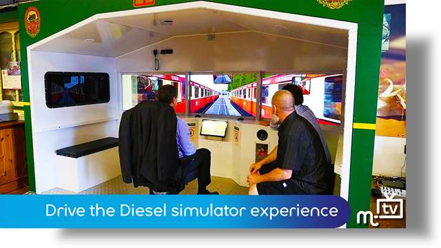 Preview of - Drive the Diesel simulator