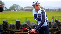 Ben finishes charity cycle month