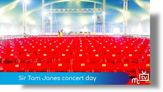 Preview of - Sir Tom Jones concert day