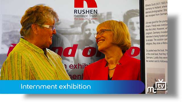 Preview of - Internment exhibition