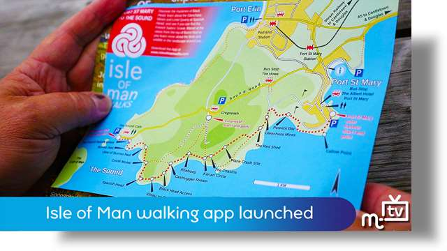 Preview of - IoM walking app launch