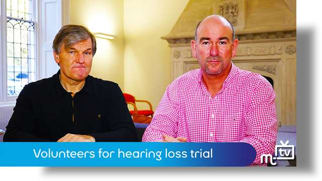 Preview of - Volunteers for hearing loss trial