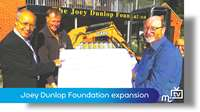 Joey Dunlop Foundation expansion