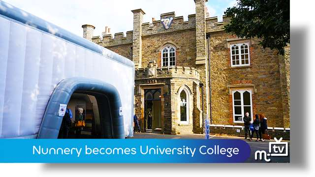 Preview of - Nunnery set to become University College