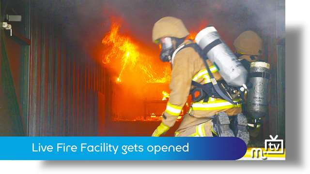 Preview of - Live Fire Facility gets opened