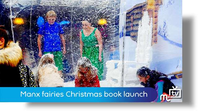Preview of - Manx fairies Christmas book launch