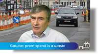 Gawne: prom spend a waste of money