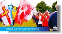 Island Games: 200 days to go