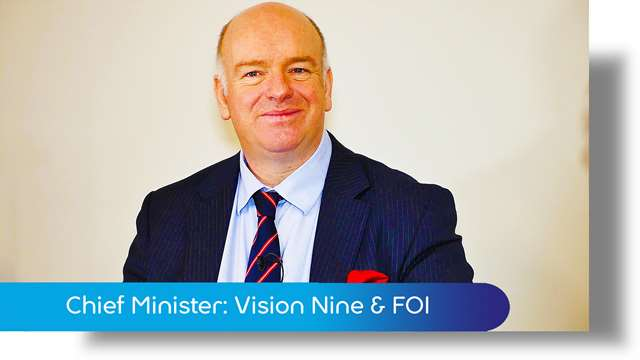 Preview of - Chief Minister: Vision Nine & FOI